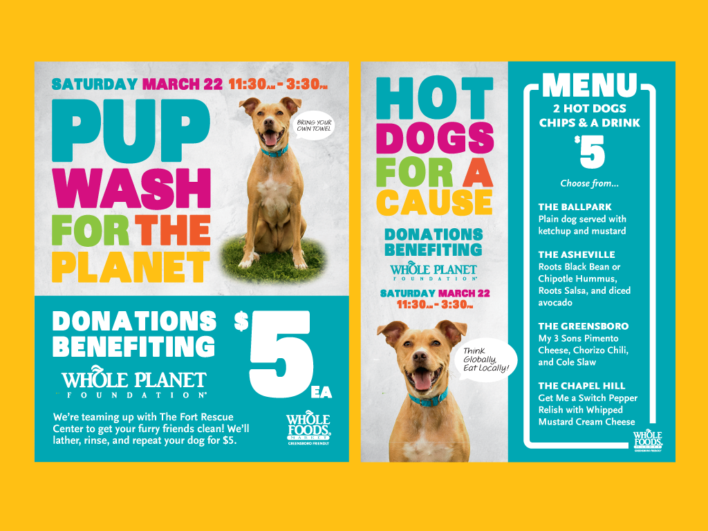 Pup Wash For The Planet